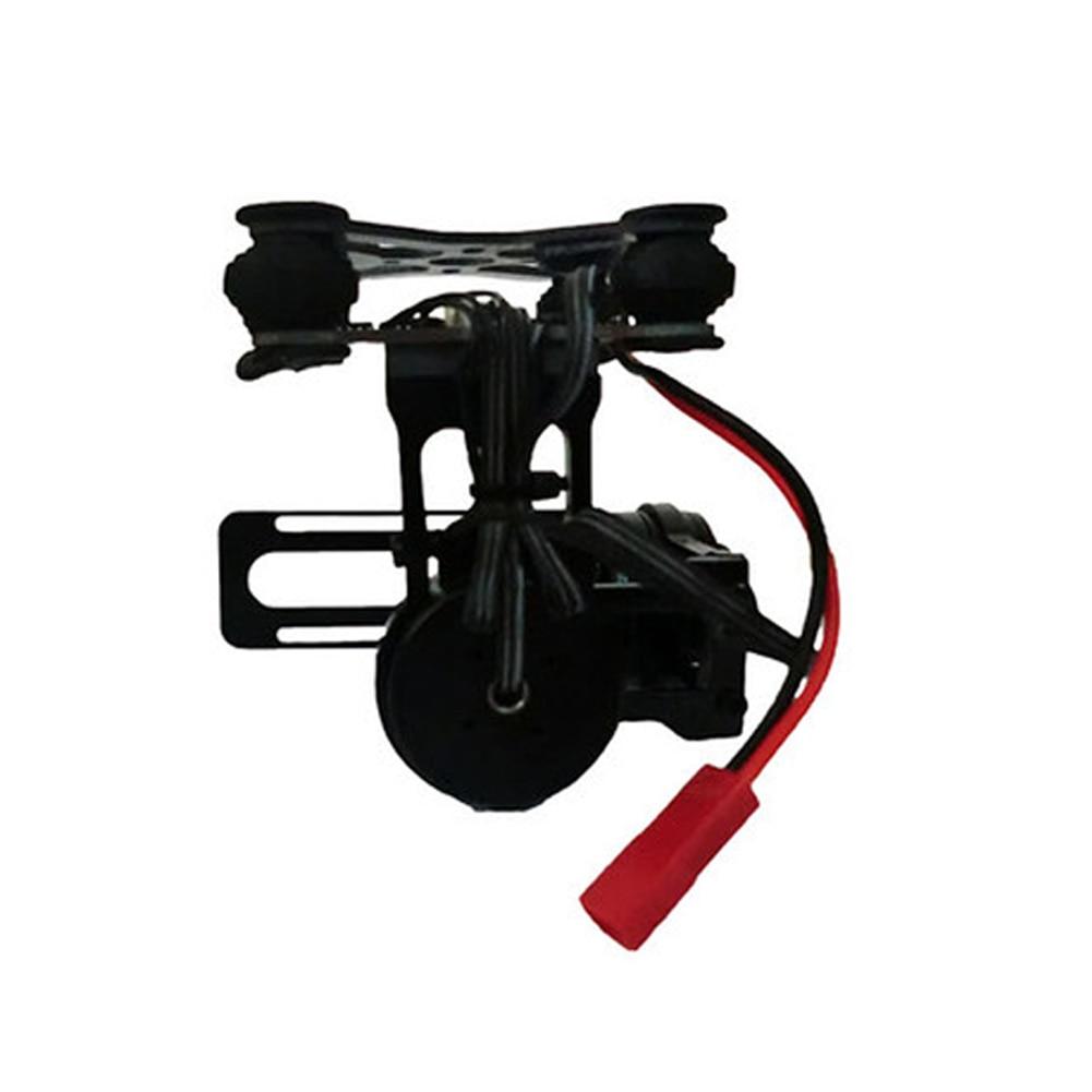 Durable avec vis aérienne 2 axes léger sans brosse capteur de photographie cardan accessoires en alliage d'aluminium pour caméra GoPro