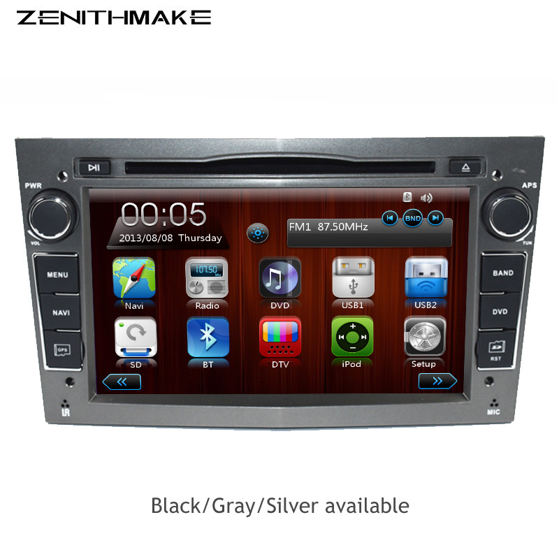 Free shipping Capacitive Touch 2 Din 7 Inch Car DVD Player For Vauxhall/Opel/Antara/VECTRA/ZAFIRA/Astra H G J Canbus RDS GPS