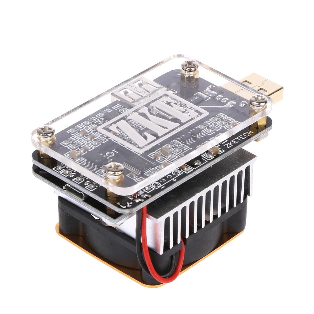 QC2.0/3.0 MTK-PE Déclencheur EBD-USB + DC Charge Électronique Batterie Tension Testeur de Capacité L15