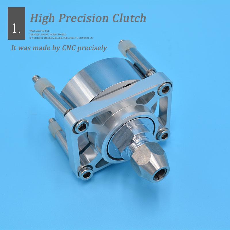 CNC de alta calidad de aleación de aluminio de montaje del motor o embrague para Zenoah motor marino RC Barco de Gas-in Partes y accesorios from Juguetes y pasatiempos    2