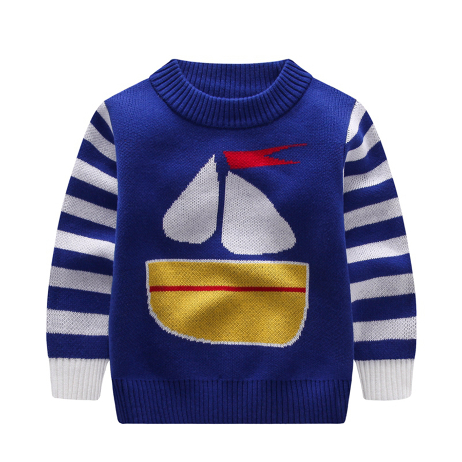 Child Boy Pullover Autumn Winter Spring Warm Baby Boys Sweater ...