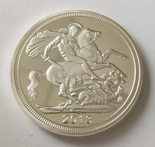 30pcs/lot, 2013 UK British Sovereign Coin, 1 ounce of metal coins , silver plated coins. Free Shipping high quality