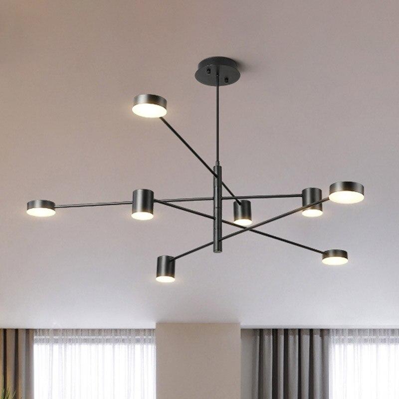 Charmant Moderne LED Anhänger Licht Nordic Esszimmer Küche Lampe Hängen Lampen Große  Luminaria Schwarz Weiß Gold