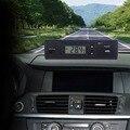 Alta calidad 2015 más nuevo 2in1 Pantalla LCD Reloj Digital del coche del vehículo auto reloj de tiempo temperatura termómetro