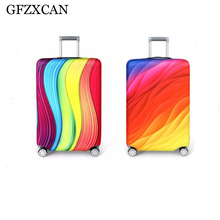 New travel thickening elastic color luggage protection box cover for 18-32 trolley case dust accessories