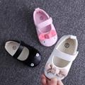 Primeros caminante de la nueva llegada de la princesa del bebé zapatos de Suela Suave Zapatos de Bebé Primeros Caminante tamaño 11,12, 13 cm R456