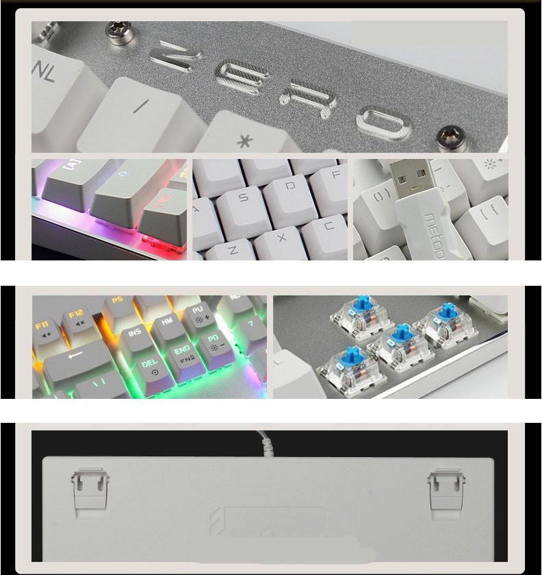 Blue/Black/Red Switch Keyboards Backlight 15