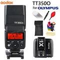 Мини Вспышка GODOX TT350  Беспроводная вспышка 2 4G HSS TLL 1/8000s Master Speedlite для Olympus Panasonic Lumix Camera + X1TO Trigger