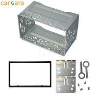 For 178mmx100mm Size 2 Din Universal Car Audio Panel Car Dash Frame Kit Universal Fascia Panel