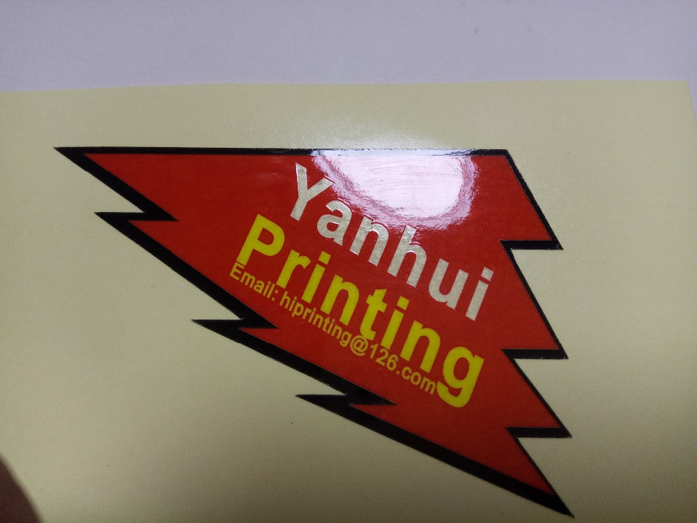Many designs sticker printing/ and make smaple sticker printing