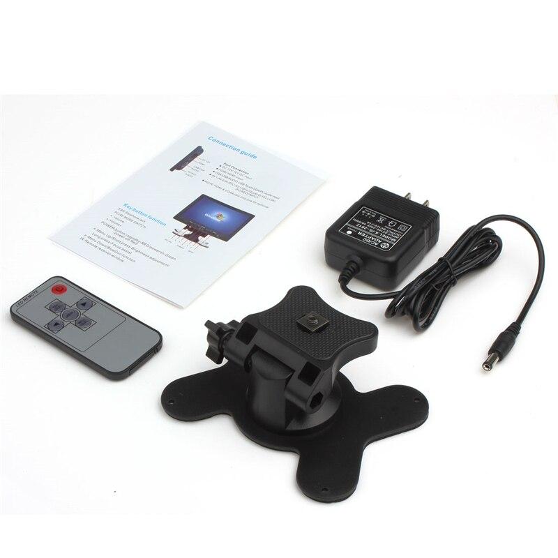 7 դյույմ LCD HD 800 * 480 լուծման մեքենայի - Ավտոմեքենաների էլեկտրոնիկա - Լուսանկար 6