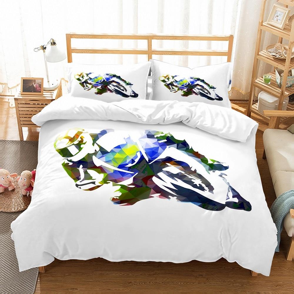 3D Flying Super Mario Print Bedding Set Duvet cover Quilt cover Pillowcase 3pcs