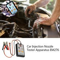 All sun EM276 Professional Injector Tester Fuel Injector 4 Pluse Modes Tester Powerful Fuel System Scan Tool Diagnostic Tool