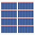 100 unids 7.2 cm 2 estilos Foam Darts para Nerf N-strike Elite Series Blasters refill Darts Kid pistola de juguete nuevo BR creativo de forma segura envío gratis