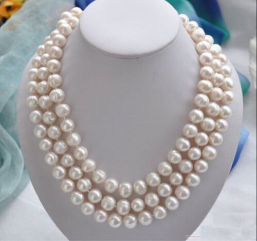 12-13mm natural baroque south seas white pearl necklace 48inch12-13mm natural baroque south seas white pearl necklace 48inch