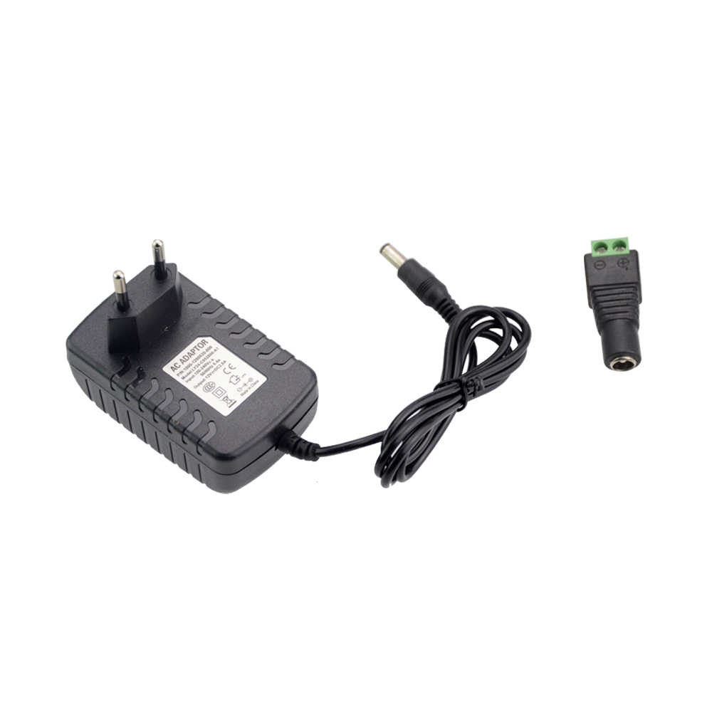 110 V 220 V Om DC 2A 3A EU US 12 V Power Adapter + DC Connector voor 5050 5630 3528 3014 RGB LED Strip licht