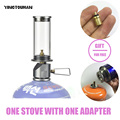BRS-55 Dreamlike Candle Lamp Portable Outdoor Camping Light Gas Lighting Camping Lamp Tent Gas Lamp Lamps And Lanterns