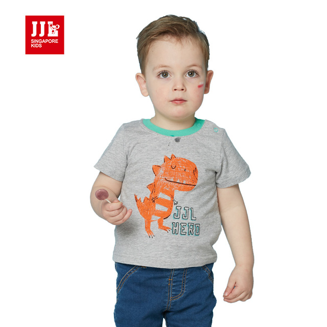 Aliexpress.com : Buy dinosaur baby boy t shirt short ...