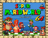 Super Marioworld64 16 bit MD Game Card For Sega Mega Drive For SEGA Genesis