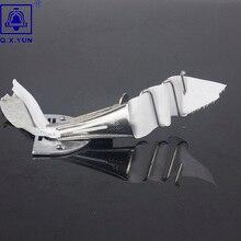 Q. X. YUN оверлок папка клейкая лента Размер 32 мм A10 Хеммер прямой угол Скоба Биндер для швейной машины обвязки кривой кромки