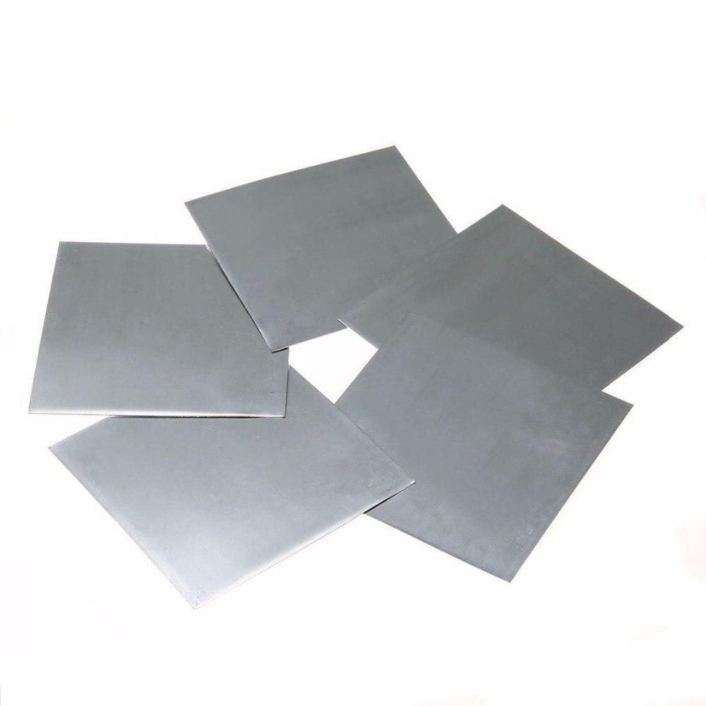 Aliexpress Com Buy 5pcs Bluish White Metal Zinc Plate