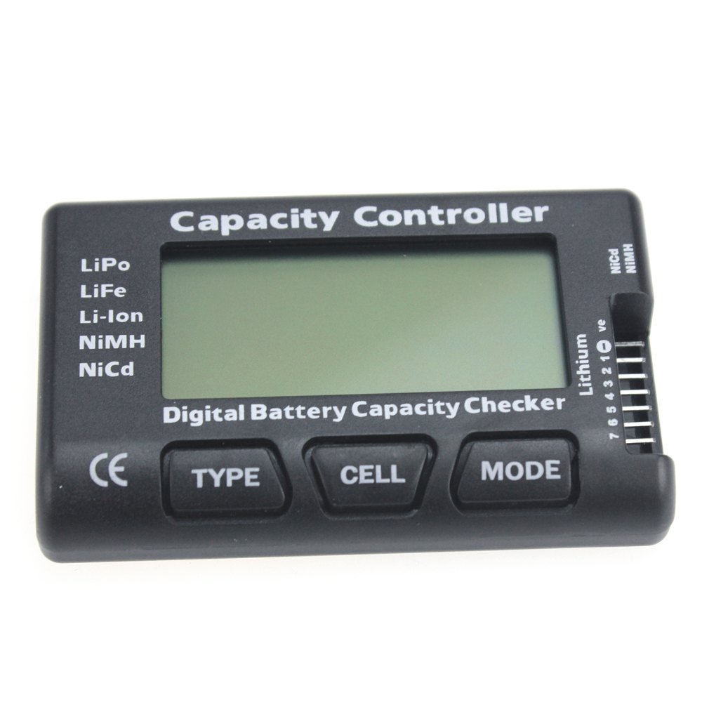 F01974 Digital Battery Capacity Checker , Cell meter For NiCd NiMH , Li-Po, LiFe, Li-lon AKKU  Cellmeter-7