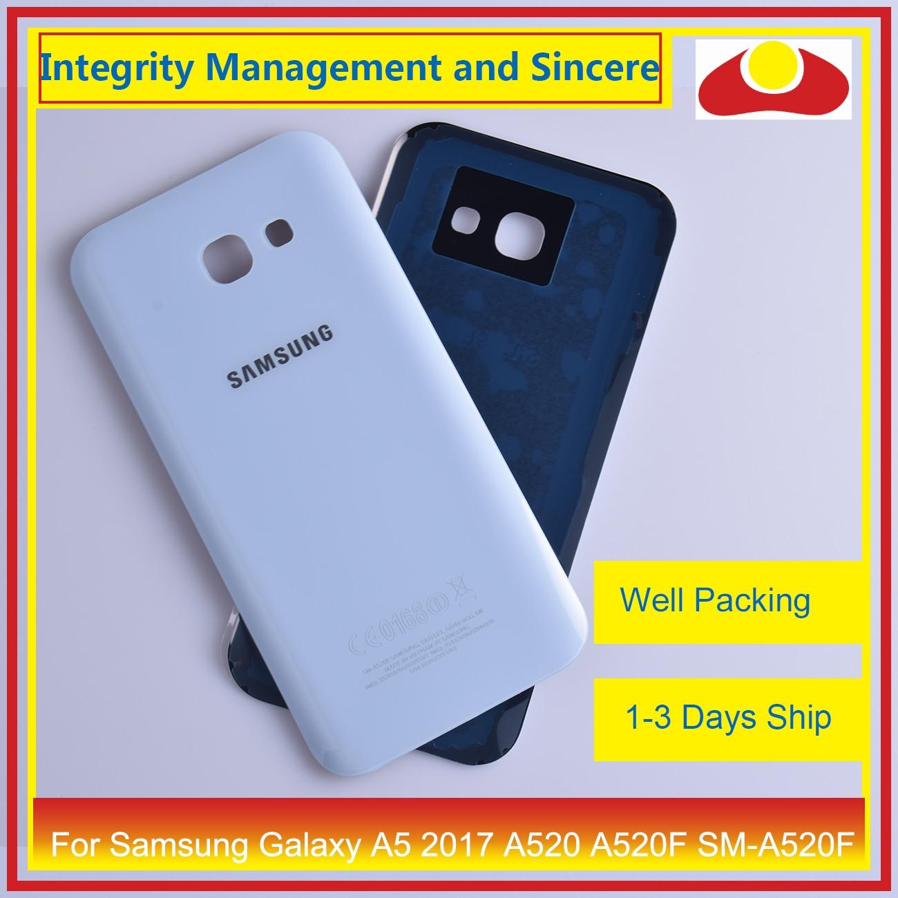 Image 5 - 50 шт./лот для Samsung Galaxy A5 2017 A520 A520F SM A520F корпус батарея Дверь задняя крышка корпус Корпус Замена-in Корпуса и рамки для мобильных телефонов from Мобильные телефоны и телекоммуникации