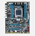 La nueva medalla X79 placa base de 2011 pines compatible soporte de memoria RECC servidor E5 2670 y otra CPU