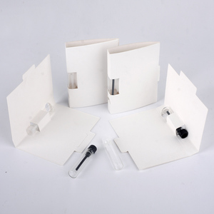 Image 5 - 100 ピース/ロット 1 ミリリットルポータブル詰め替え香水ボトル紙カードスポイトボトルサンプル香りテスト料金をロゴ