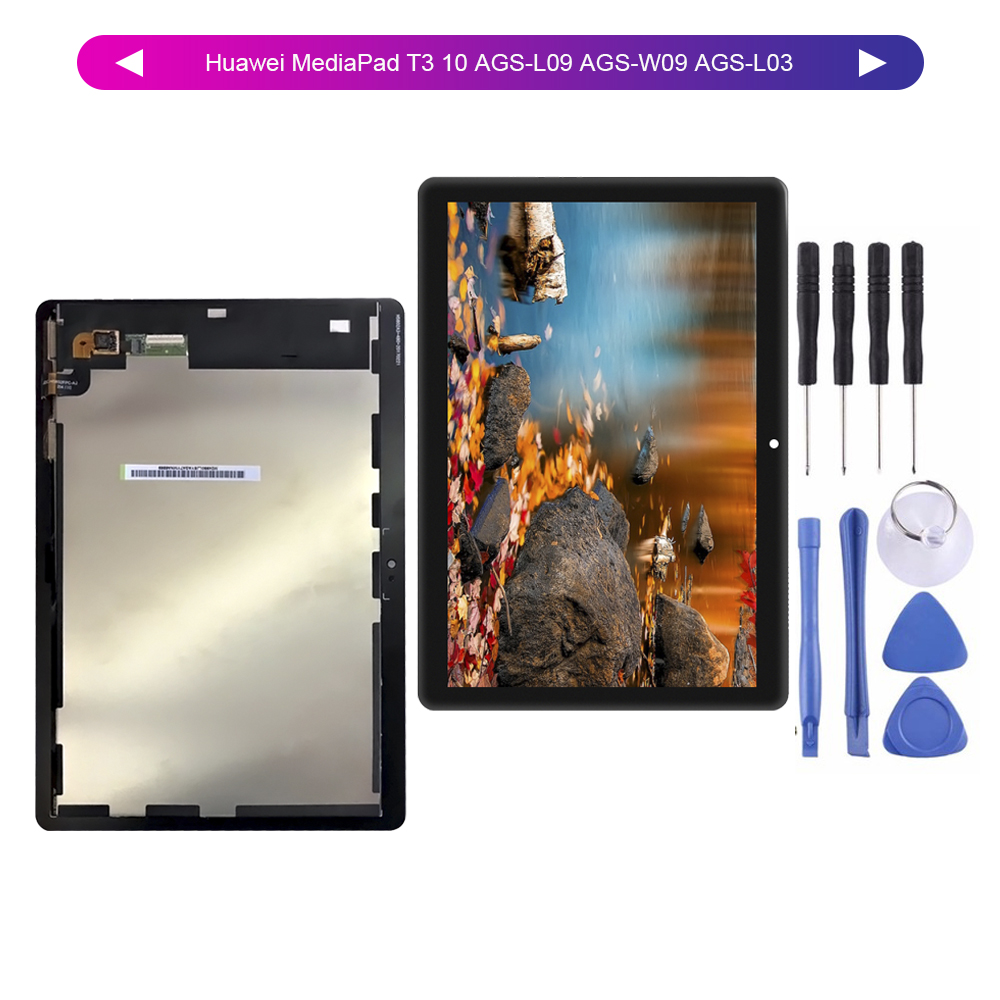 "For 9.6""Huawei MediaPad T3 10 AGS-L09 AGS-W09 AGS-L03 T3 LCD Display Digitizer Screen Touch Panel Sensor Assembly + Tools(China)"