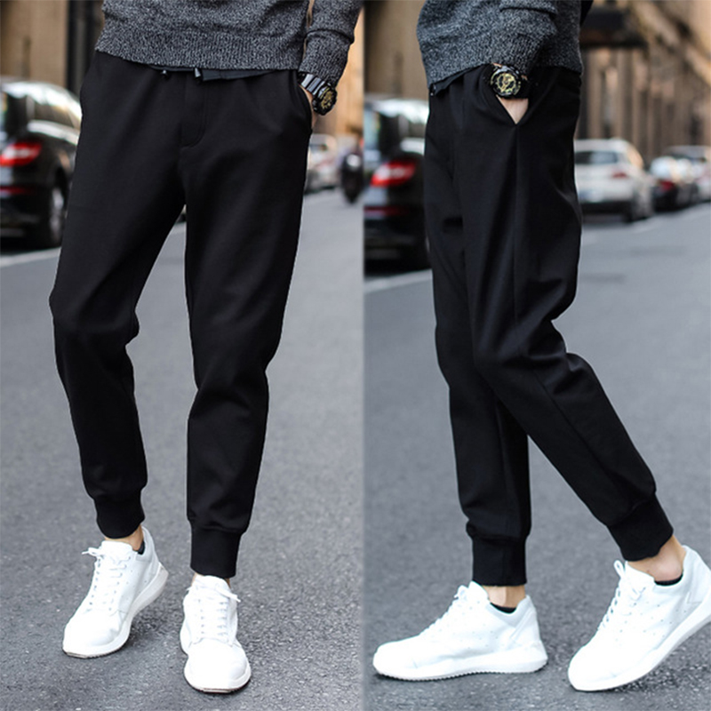 Haren-Pants Trouser Track Joggers Man Mens Casual for Male Streetwear