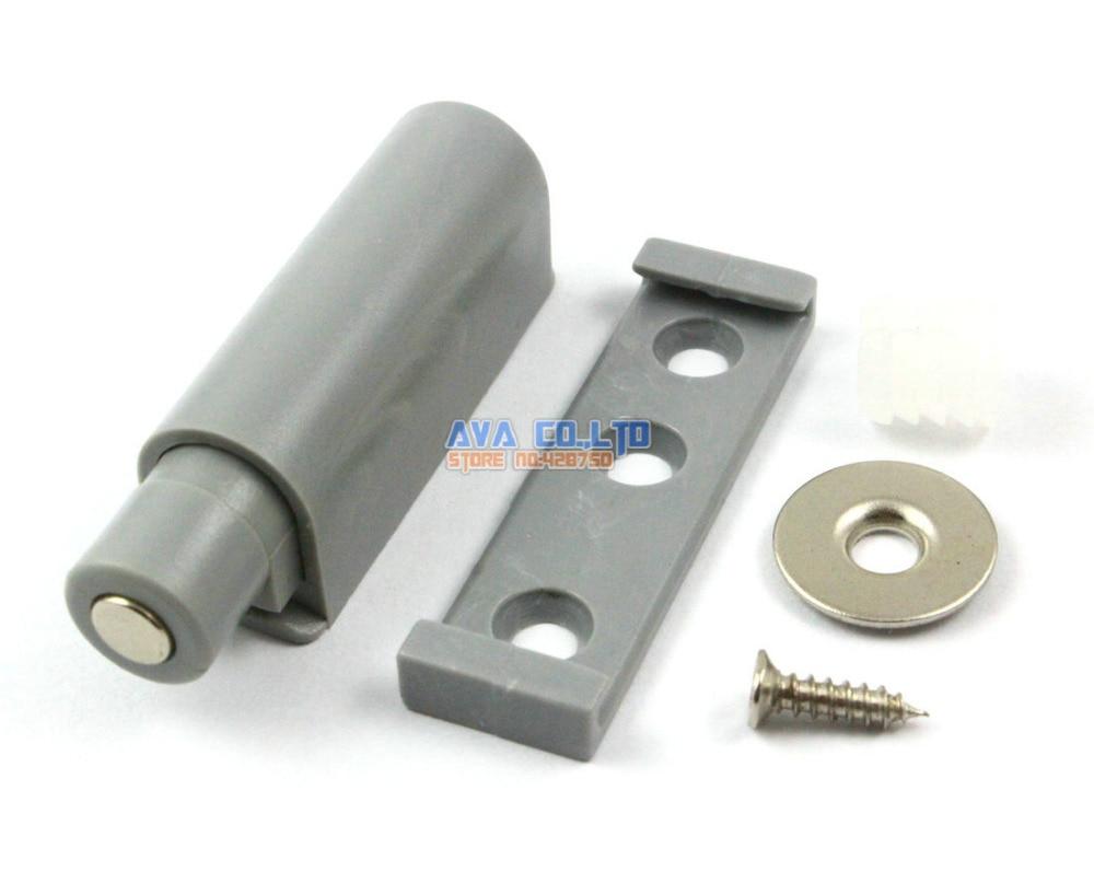 10pcs Magnet Push To Open System For Kitchen Cabinet Door Damper