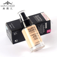 Whitening Flawless Coverage Fulid Liquid Foundation Concealer Moisturizer Oil-control Waterproof Makeup Brand Cosmetics