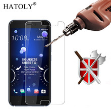 2PCS For Glass HTC U11 Screen Protector Tempered Glass For HTC U11 Glass For HTC U11 / Vive Anti-scratch Phone Film 5.5