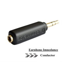 DUNU Conductor Earphone Impedance Plug 75 150 200 Ohm Noise Cancelling Adapter 3 5mm Jack Professional