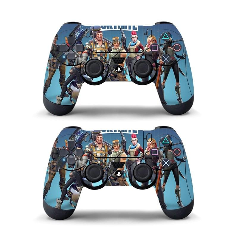 Details about 2 Pieces Fortnite Skin Cover for PS4 Remote Controller Decal  Vinyl 8 Types