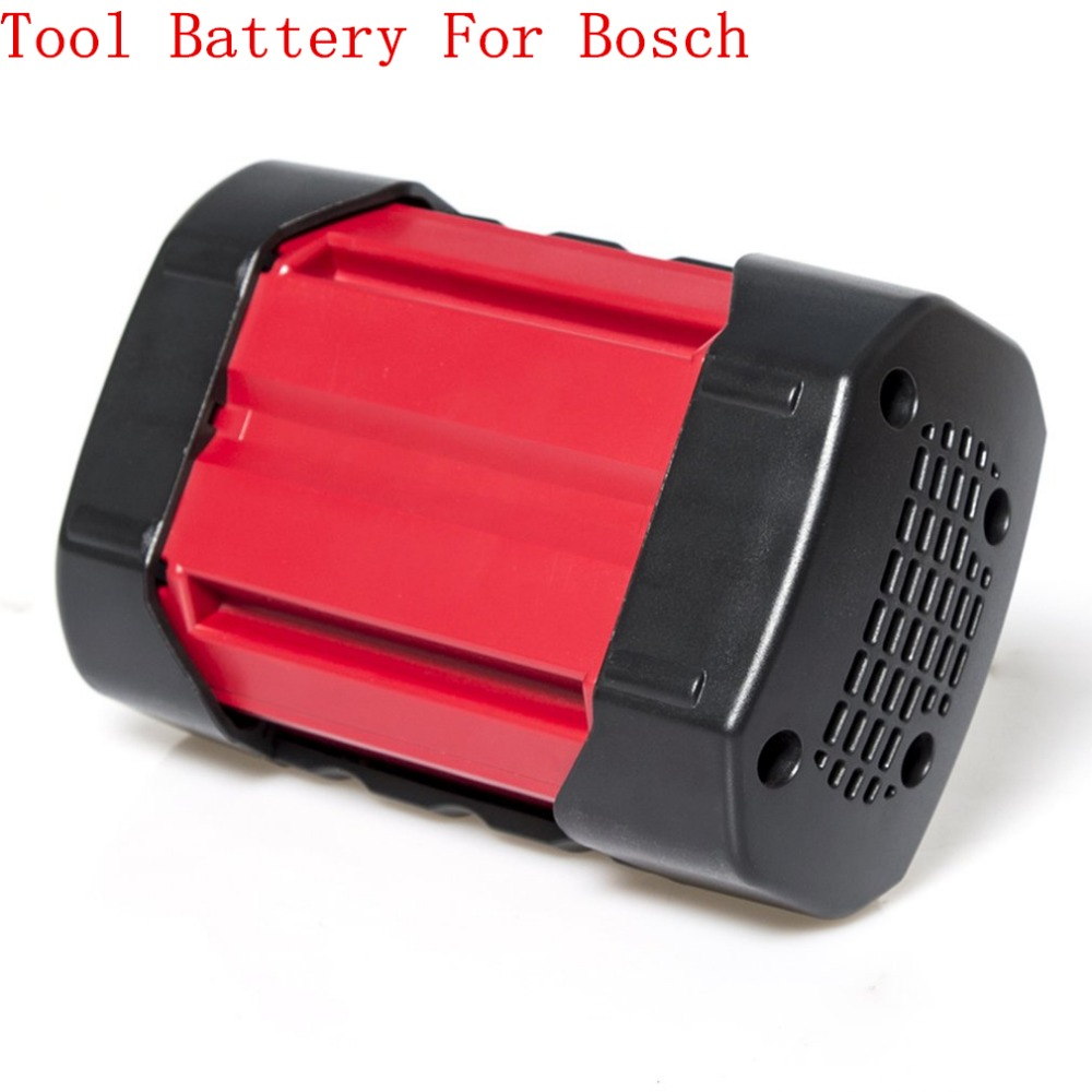 Rechargeable Power Tool Battery BAT810 Durable Use 36V 4000mAh Li-ion Battery Stable Voltage Compatible For Bosch Series Machine 5pcs lithium ion 3000mah replacement rechargeable power tool battery for bosch 36v 2 607 336 003 bat810 bat836 bat840 36 volt