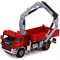 1:50 Diecast Metal & ABS Kaidiwei Atego With Crane Alloy Car Model Engineering Truck Toys For Children Boys Brinquedos Gift