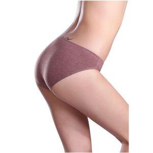 Image 5 - Wealurre 6Pcs ชุดชั้นในสตรีต่ำเอวผ้าฝ้ายเซ็กซี่สุภาพสตรีชุดชั้นในร้อนขายบิกินี่กางเกง