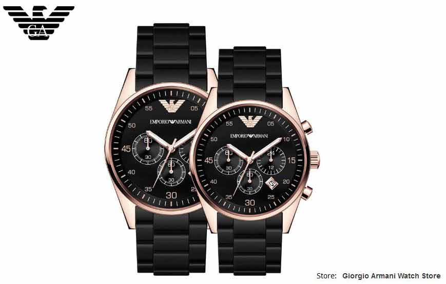 Original Giorgio Armani free shipping EMS/DHL Armani men's/Women's watches, Giorgio Armani watches, Couple quartz watch AR5905/A цена