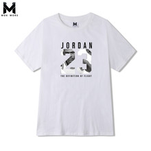 Новинка, Мужская футболка s 23 с принтом, брендовая одежда, хип-хоп, с буквенным принтом, Мужская футболка, короткий рукав, аниме, высокое качество, футболка