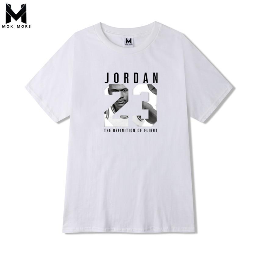 607f375633 2018 New Mens JORDAN 23 printing T Shirt Brand Clothing Hip Hop Letter Print  Men T Shirt Short Sleeve Anime High Quality T-Shirt