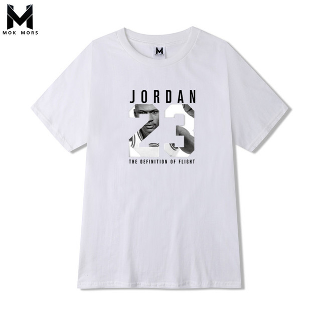 0b690995cc6d1 2018 nuevo Mens JORDAN 23 impresión camiseta Marca Ropa Hip Hop letra impresión  hombres manga corta