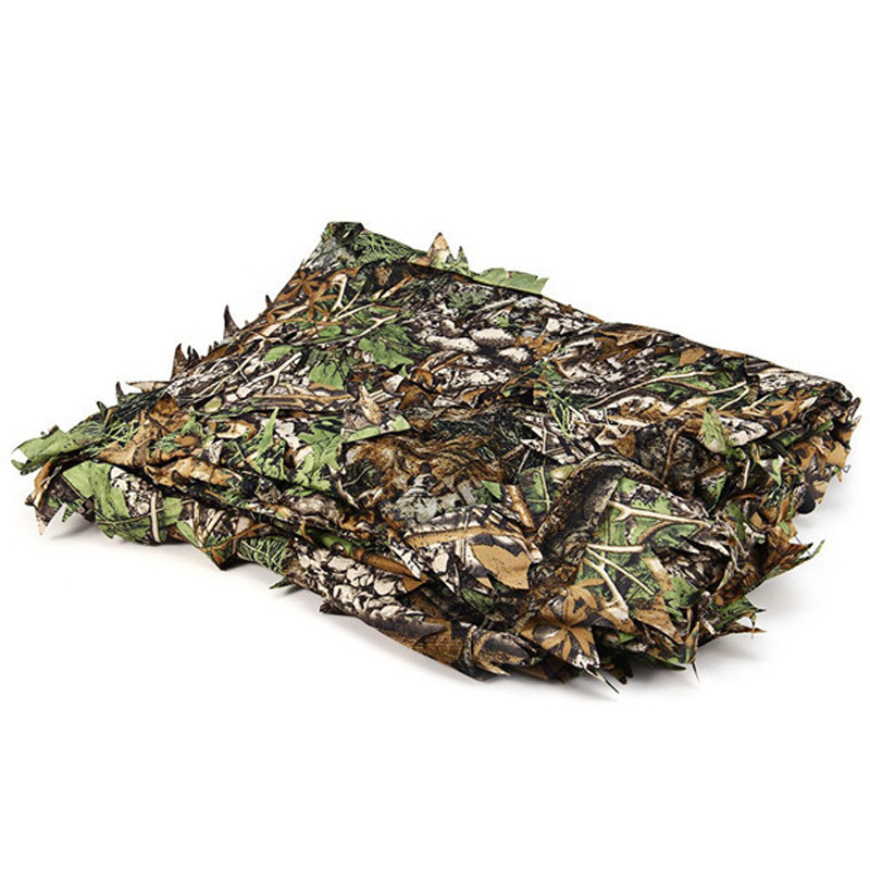 Tactical Hunting Clothes 3D Camo Leaf Ghillie Suits Sniper Airsoft Camouflage 3
