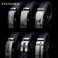 YVYVLOLO Men Belt 2016 Automatic Buckle Brand Leather Belts Designer Belts Men High Quality Mens Belts Luxury Ceintures Homme