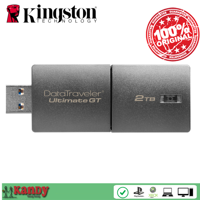 Kingston Ultimate GT usb flash drive 2tb metal High Speed flash pen drive pendrive memoria mini usb key pen-drive memory stick