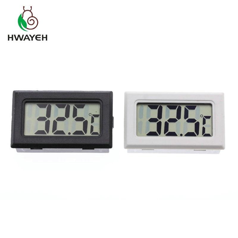 Mini Digital LCD Indoor Convenient Temperature Sensor Humidity Meter Thermometer Hygrometer Gauge