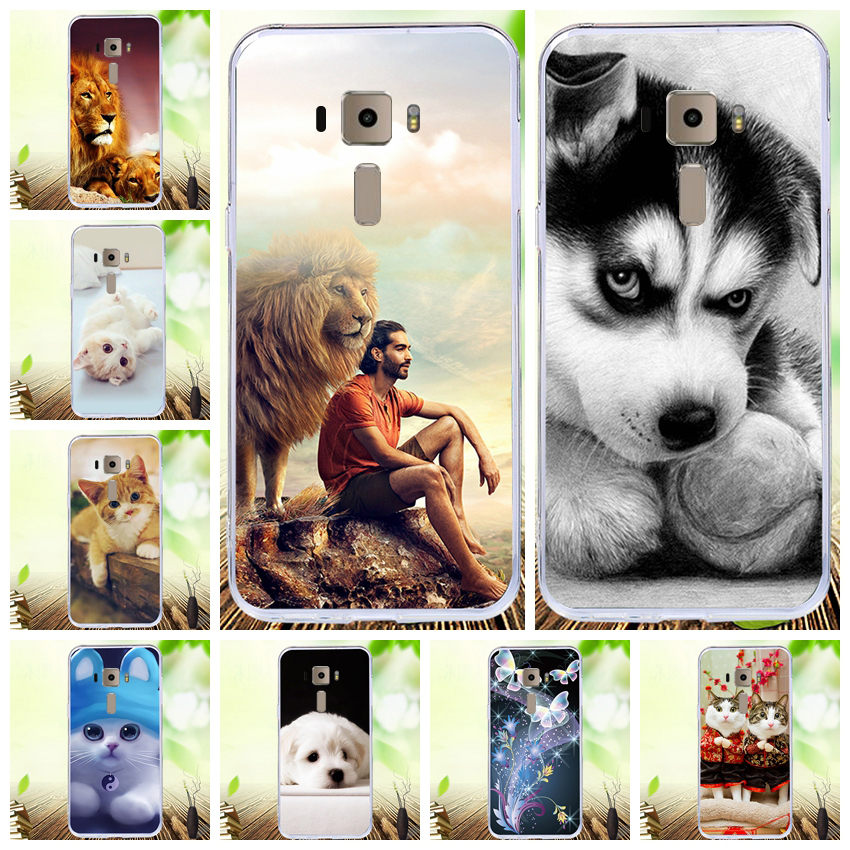Lamocase Cartoon Printing Phone Case For Asus Zenfone 3 ZE520KL <font><b>ZE</b></font> 520KL <font><b>ZE</b></font> <font><b>520</b></font> <font><b>KL</b></font> Z017D Z017DA 5.2