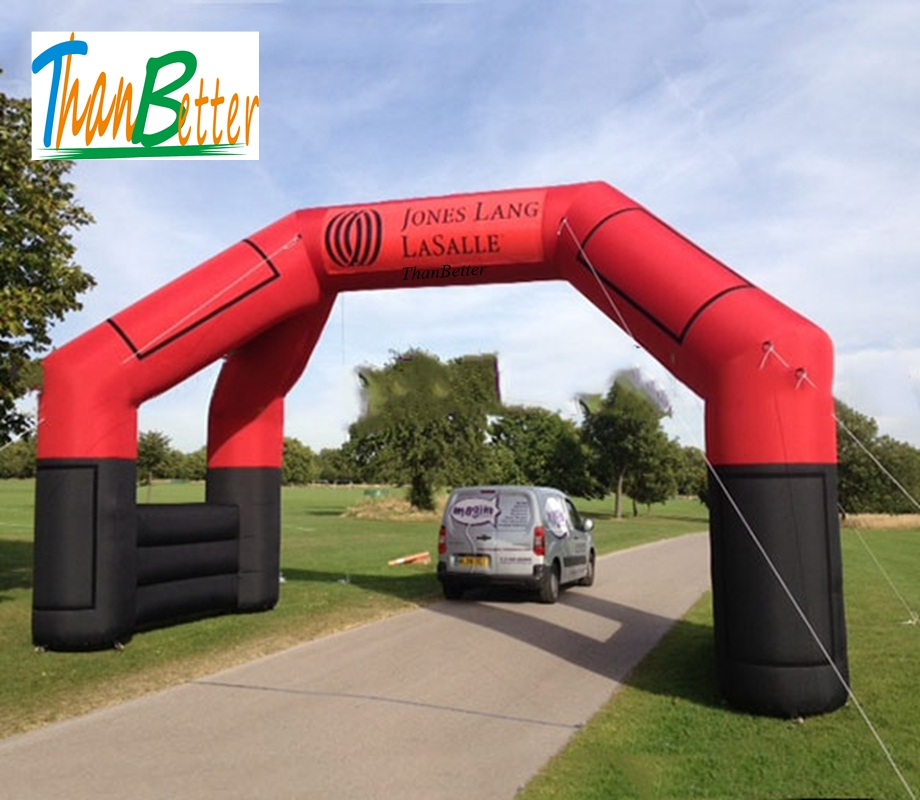 ThanBetter 6.0x4.0 inflatable Four Legs Arch, inflatable archway, 4 legs inflatable finish start arch for advertising free shipping 6m 20ft 4 legs inflatable arch inflatable start finish line racing arch with blower