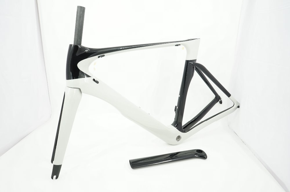 Full Internal Cable Routing Aero Carbon Frame Road Bicycle Aero Bike Frame